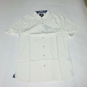 Reyn Spooner Mens Hawaian Shirt Size Large Solid